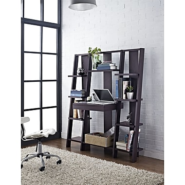Altra Tiffany Ladder Desk/Bookcase, Espresso