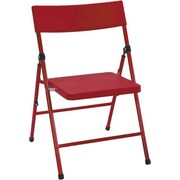 Cosco Kid's Pinch-free Folding Chair Red (4-pack)