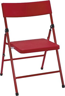 Cosco Kid's Pinch-free Folding Chair Red (4-pack), BLUE