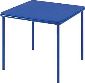 Cosco Kid's Vinyl Top Table Blue, BLUE