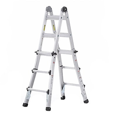 Cosco Products Cosco 13' Multi-Positon Ladder System, ALUMINUM YELLOW TYPE 1A