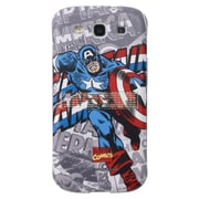 Anymode Marvel Comic Kickstand Hard Case For Samsung Galaxy S3, Captain America
