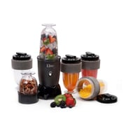 Maxi-Matic® Elite Cuisine 300 Watt 17 Piece Personal Drink Blender, Black