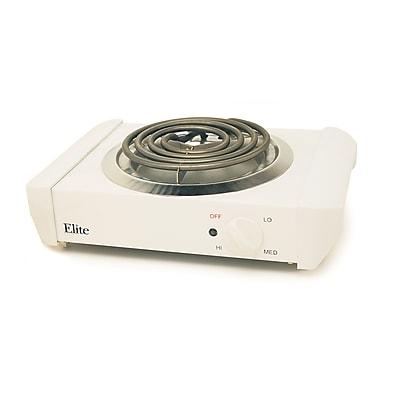 Maxi-Matic® Elite Cuisine 1000 W Electric Single Buffet Burner, Chrome Plated Drip Pan
