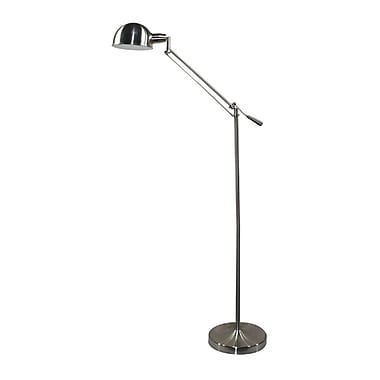 Verilux® 26 W Brookfield Natural Spectrum Floor Lamp, Brushed Nickel
