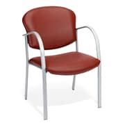 OFM Danbelle Steel Contract Reception Chair, Wine (414-VAM-603)