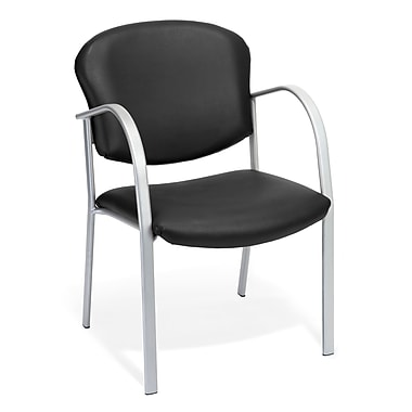 OFM Danbelle Steel Contract Reception Chair, Black (414-VAM-606)