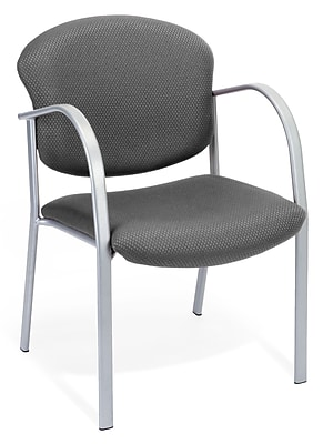 OFM Danbelle Steel Contract Reception Chair, Graphite (414-13-GRAPHITE)