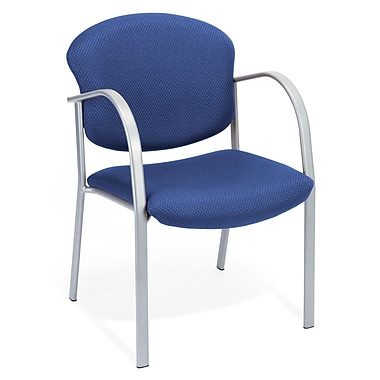 OFM Danbelle Steel Contract Reception Chair, Ocean Blue (414-84-OCEANBLU)