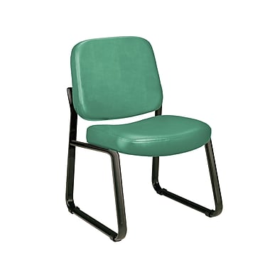 OFM Steel Guest/Reception Chair, Teal (405-VAM-602)