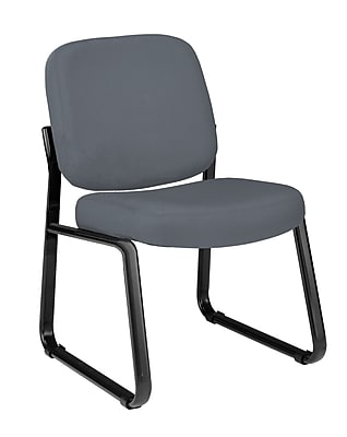 OFM Steel Guest/Reception Chair, Gray (405-801)