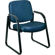 OFM Steel Guest/Reception Chair, Navy (811588014217)