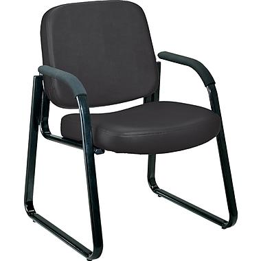 OFM Steel Guest/Reception Chair, Black (403-VAM-606)