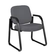 OFM Steel Guest/Reception Chair, Gray (811588014101)