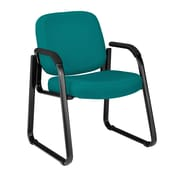 OFM Steel Guest/Reception Chair, Teal (403-802)