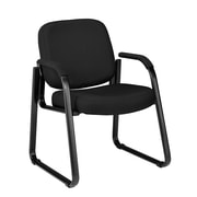 OFM Steel Guest/Reception Chair, Black (811588014163)