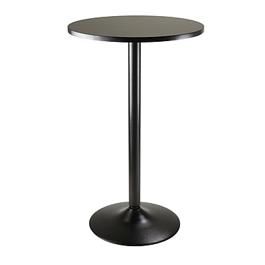 Winsome Pub Table Collection, Black