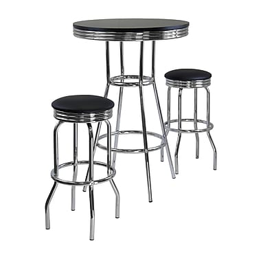 Winsome Summit 3-piece Pub Table Set, 30