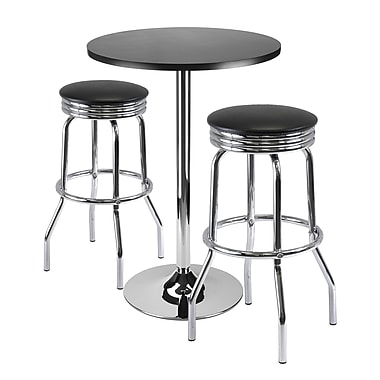 Winsome Summit 3-piece Pub Table Set, 24