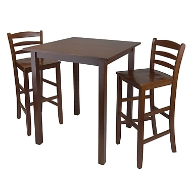 Winsome Parkland 3-piece High Table With 29