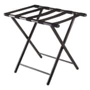 Winsome Tavin Luggage Rack, Folding Straight Leg, Antique Bronze