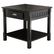 Winsome – Tables de la collection Timber, noir