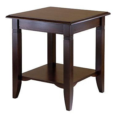 Winsome – Table de bout Nolan, cappuccino