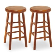 """Winsome 24"""" Swivel Seat Stools, 2/Pack"""