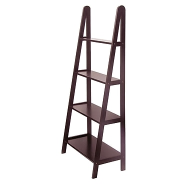 Winsome 4-Tier A-Frame Shelf, Espresso