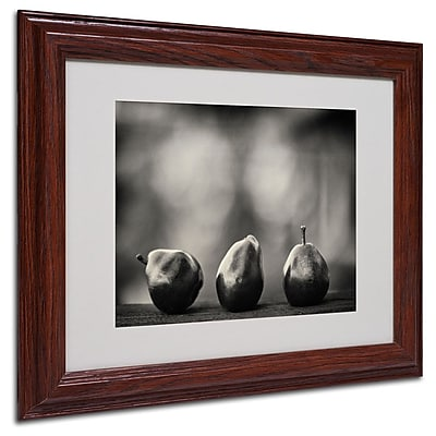 Trademark Fine Art 'Three Red Pears' 11