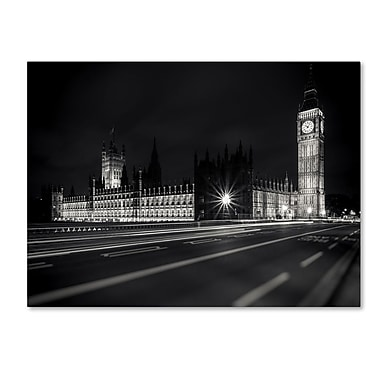 Trademark Fine Art 'Letters From London 2' 16