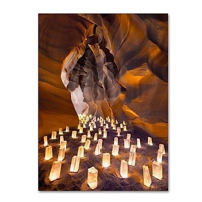 Trademark Fine Art 'Candle Canyon I' 14
