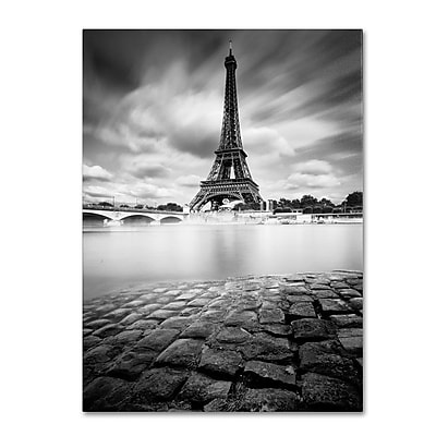 Trademark Fine Art 'Eiffel Tower Study I' 14