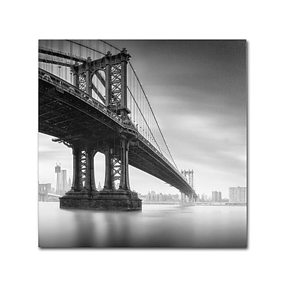 Trademark Fine Art 'Manhattan Bridge I' 24