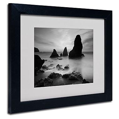 Trademark Fine Art 'Rodeo Beach I Black and White'