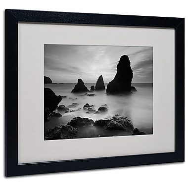 Trademark Fine Art 'Rodeo Beach I Black and White' 16