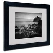Trademark Fine Art 'Sunset At Ruby Beach'
