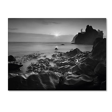 Trademark Fine Art 'Sunset At Ruby Beach' 35