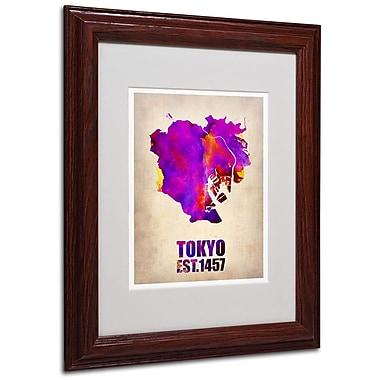 Trademark Fine Art 'Tokyo Watercolor Map 2' 11