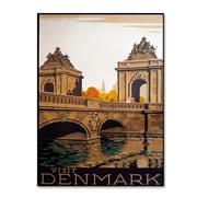"Trademark Fine Art 'Denmark' 14"" x 19"" Canvas Art"