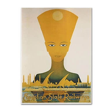Trademark Fine Art 'Egyptian State Railway' 35
