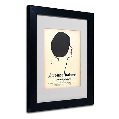 Trademark Fine Art 'Le Rouge Baiser' 11