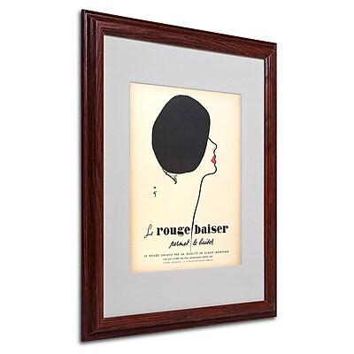 Trademark Fine Art 'Le Rouge Baiser' 16
