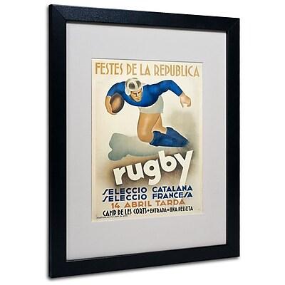 Trademark Fine Art 'Rugby' 16