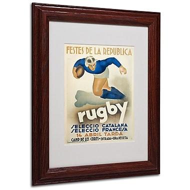 Trademark Fine Art 'Rugby' 11