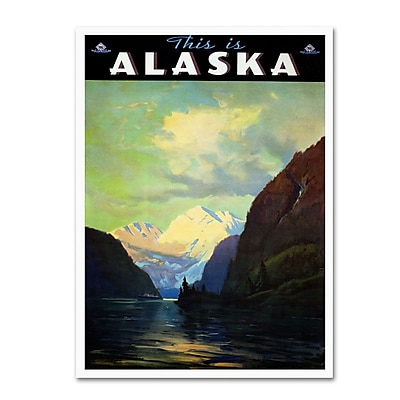 Trademark Fine Art 'Trav Alaska' 22