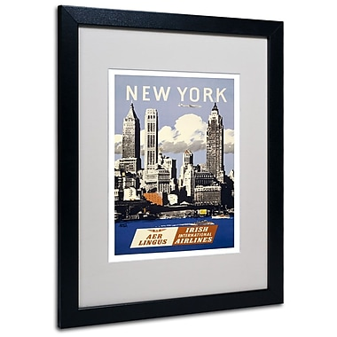 Trademark Fine Art 'Trav NY Aer Lingus' 16