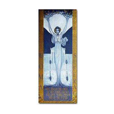 Trademark Fine Art 'Woman Suffrage' 10