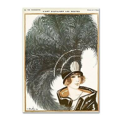 Trademark Fine Art 'La Vie Parisienne' 35