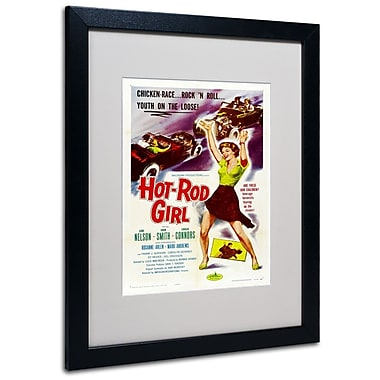 Trademark Fine Art 'Hot Rod Girl' 16